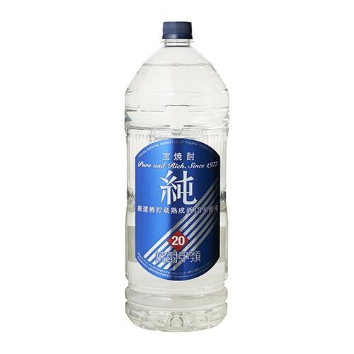 純20°ペットボトル 4L