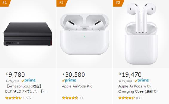 Amazon PC周辺機器